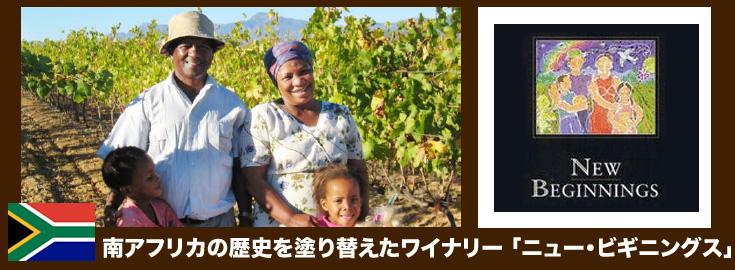 ニュー・ビギニングス ピノタージュ(赤) ワイン