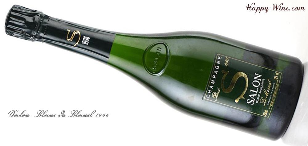 【お取り寄せ】サロン ブラン・ド・ブラン 1996(白.泡) 750ml