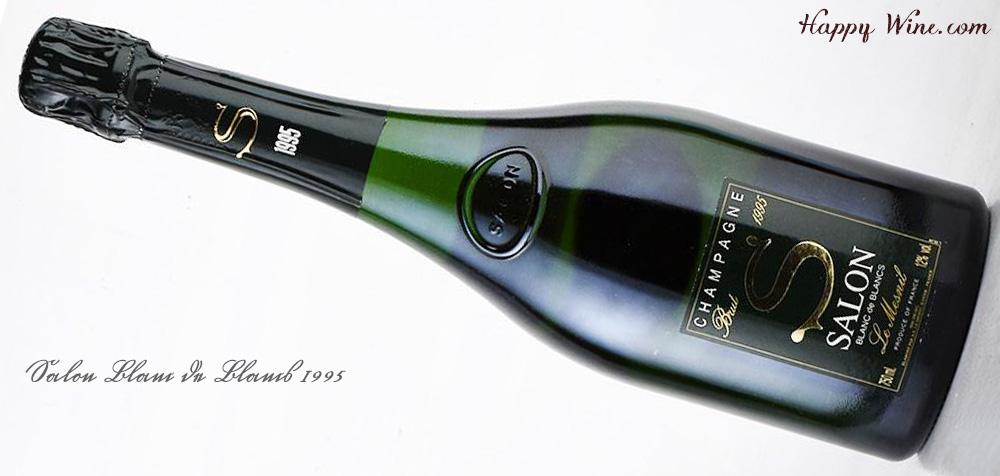【お取り寄せ】サロン ブラン・ド・ブラン 1995(白.泡) 750ml